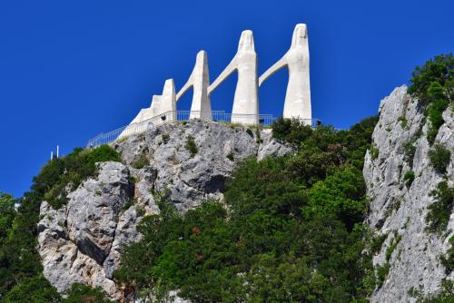 Zalongo Monument Dedicated the the Sacrifice of Greek Women