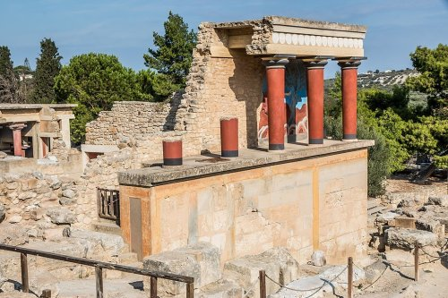 Inside the Magnificent Minoan Palace of Knossos in Crete