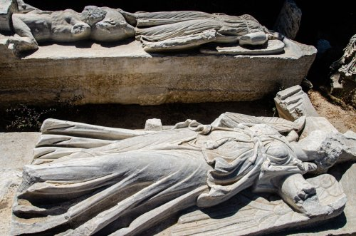 Enormous Roman-era Basilica with Nike, Tyche Statues Unearthed in Israel