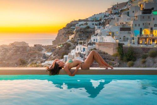 The Best Swimming Pools on Santorini