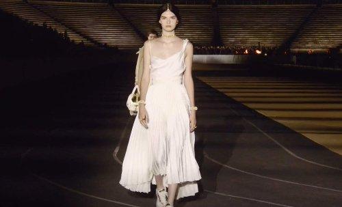 Stunning Dior Fashion Show Held at Athens Panathenaic Stadium