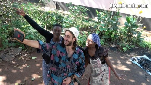 The Greek Actor Who Became a Star in Uganda, Africa