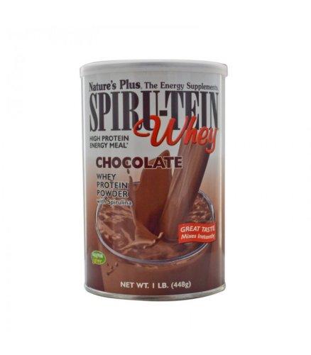 Spiru-Tein Whey Σοκολάτα 448γρ., Nature's Plus