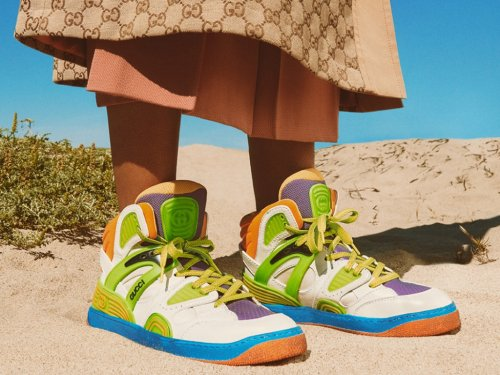 Gucci Launches Vegan Sneakers: Here's Everything You Need to Know About Its New Leather