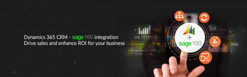 Dynamics 365 CRM - Sage 100 Integration
