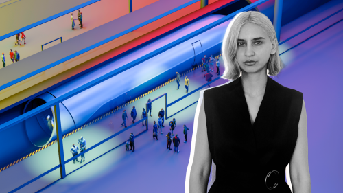 To this entrepreneur, Hyperloop won't just connect cities. It will connect people.