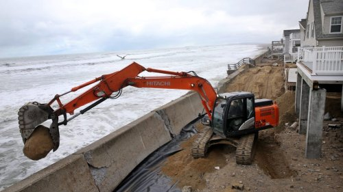 Be very careful where you build that seawall
