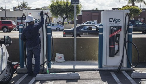 Biden wants to install 500,000 EV charging stations. Where will they all go?