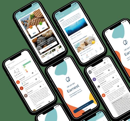 Earnest App: Dein Begleiter für ein nachhaltiges Leben