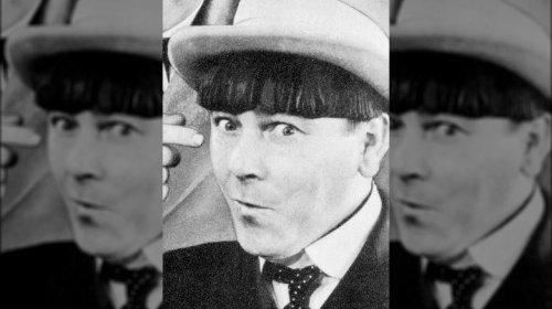 The Tragic Death Of Moe From The Three Stooges