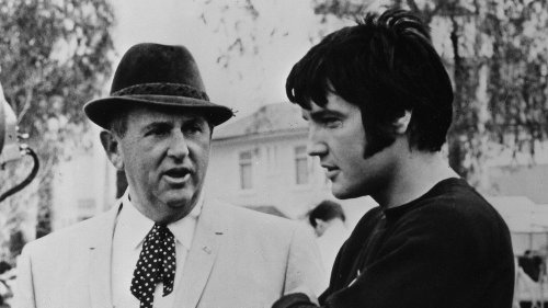 Was Elvis' manager a killer on the run?