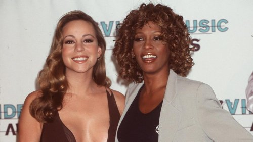 The Truth About Whitney Houston And Mariah Carey's Feud
