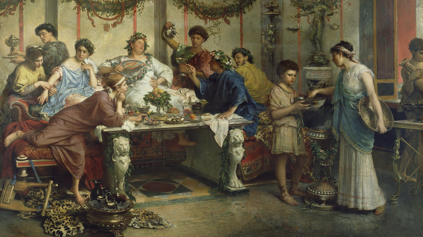 What It Was Really Like To Party In Ancient Rome