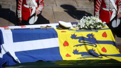 The Flowers On Prince Philip's Coffin Have A Secret Meaning