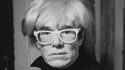 The Surprising Thing Andy Warhol Added To Some Of His Paintings