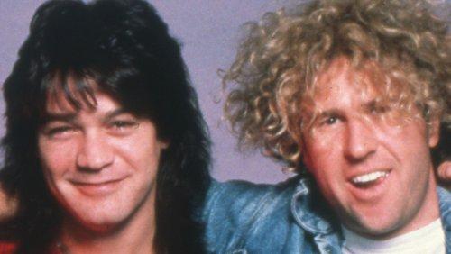 The Surprising Person Who Reconnected Sammy Hagar With Eddie Van Halen