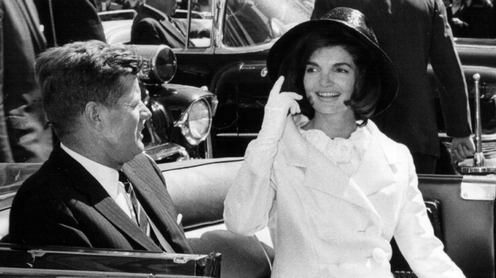 The Real Reason Jackie Kennedy's Famous Pink Suit Is Still Hidden From The Public