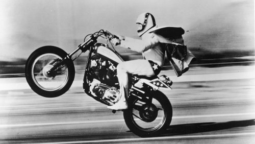 The truth behind Evel Knievel's final jump