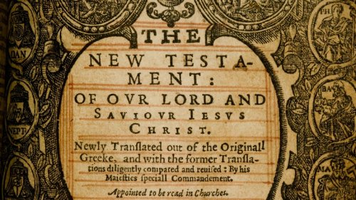 The Untold Truth Of The King James Bible