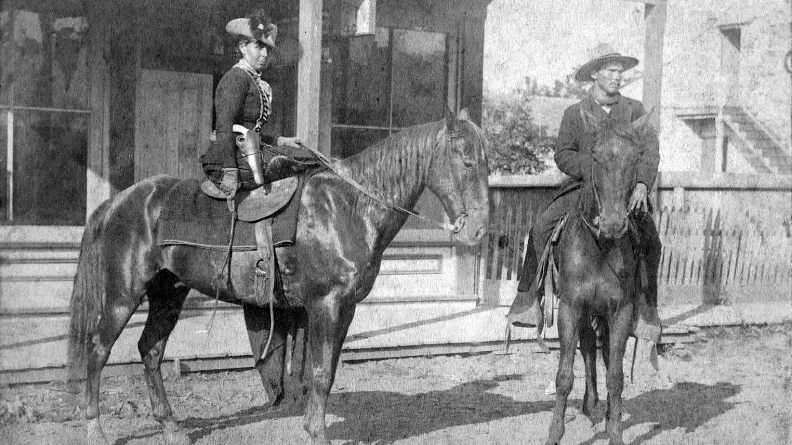 The Toughest Women In The Wild West