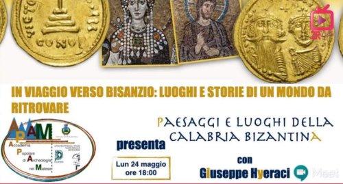 Paesaggi e luoghi della Calabria bizantina con Giuseppe Hyeraci (Zona Rossa Webtv)