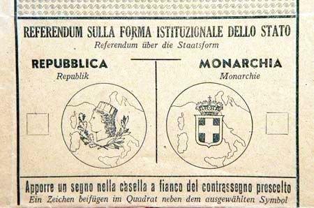 2 giugno 1946, con il Referendum in Italia nasce la Repubblica, ma in Calabria vince la Monarchia.