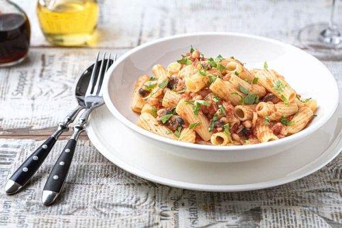 Die Pasta mit Bohnen & Speck wär wohl der Himmel für Bud Spencer