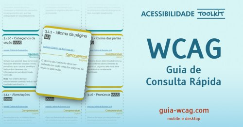 Guia WCAG | Guia de consulta rápida