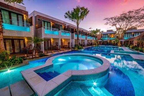 Pousada em Bonito oferece quartos com piscinas privativas