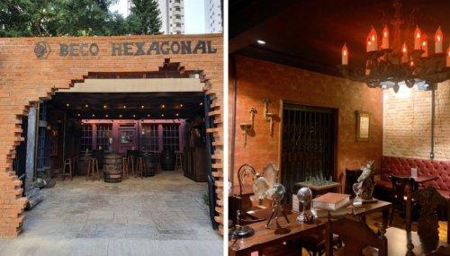 Moema ganha restaurante temático de Harry Potter e encanta fãs
