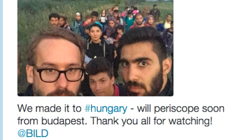 How live video on Periscope helped 'get inside' the Syrian refugees story