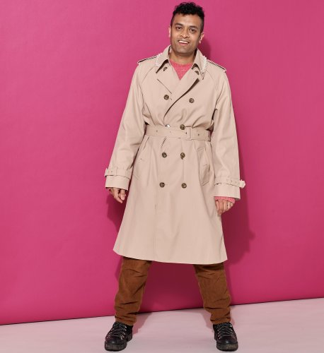 Move over, Bogart. The trenchcoat has had a very modern makeover