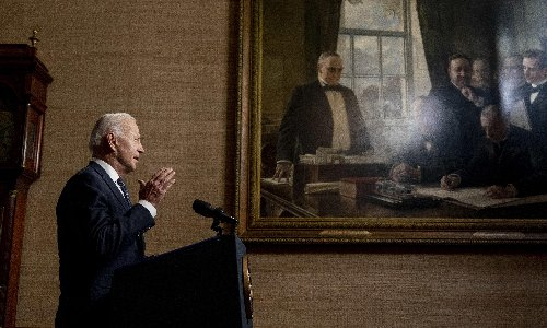 Biden has 59% approval rating as he approaches 100 days in office – study