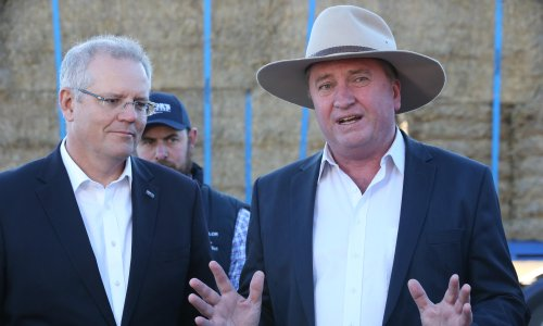 The Nationals is not a serious party for country people – just a collection of bogus stereotypes