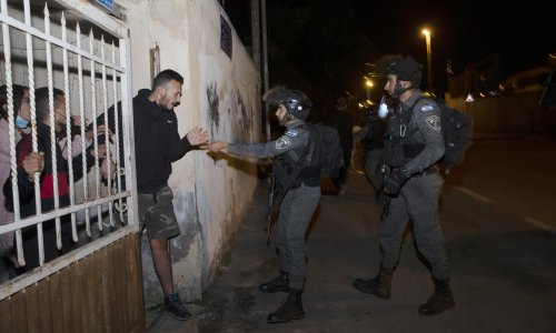 I live in Sheikh Jarrah. For Palestinians, this is not a 'real estate dispute'