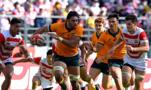 Wallabies scrape past Japan to make winning start to spring tour