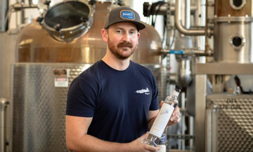 How a California distillery is turning fire-damaged grapes into 'something awesome'