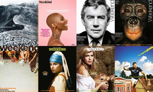 'The cover is like a piece of art in itself': 32 years of Guardian Weekend magazine