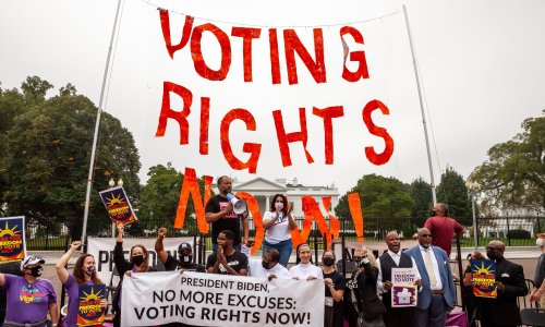 Republicans blocked a voting rights bill again – are Democrats out of options?
