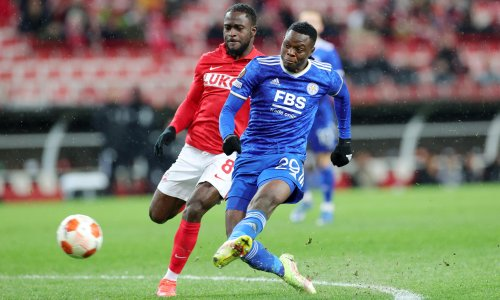 Patson Daka strikes four as Leicester roar back from brink at Spartak Moscow