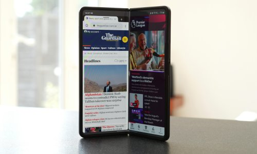 Galaxy Z Fold 3 review: Samsung's cutting-edge water resistant phone-tablet hybrid
