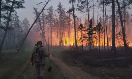 'Everything is on fire': Siberia hit by unprecedented burning