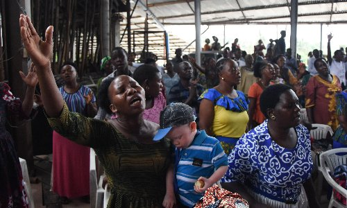 Tanzania leader says prayer will cure Covid, as hospitals overflow