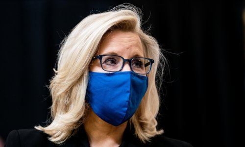 Liz Cheney a martyr to resistance as Republican party picks cult of Trump