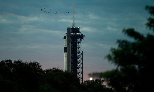 Astronauts prepare for SpaceX mission to international space station