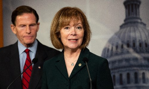 Democratic senator Tina Smith: 'I'd vote to get rid of the filibuster hook, line and sinker'