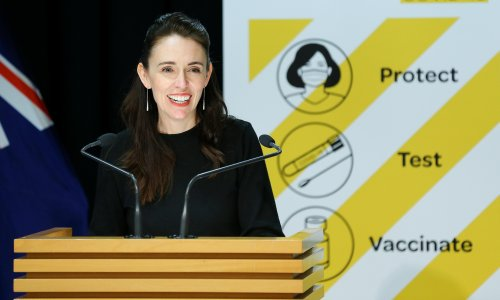 'Sorry, a slight distraction': Jacinda Ardern unruffled as earthquake interrupts press conference
