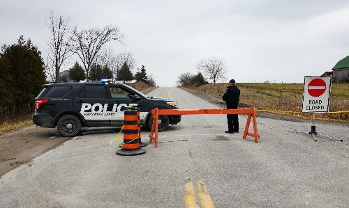 Canada police officers refuse questions over one-year-old's shooting death