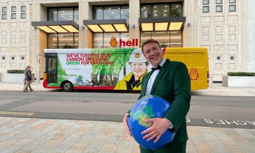 'Greta Thunberg would love it – Shell's CEO less so': Joe Lycett vs the Oil Giant review