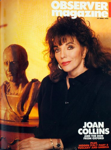 From the archive: Joan Collins and the Oxford don, 1990